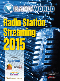 Radio World Streaming 2015 cover