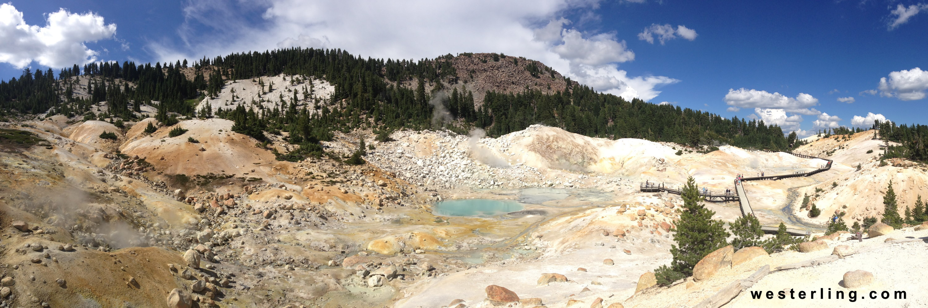 lassen volcanic National Park - Bumpass Hell
